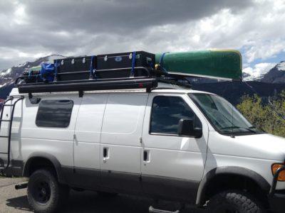 custom dry boxes for camper van